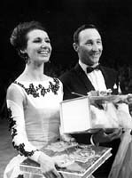 Walter and Marianne Kaiser European Professional Latin American Champions 1965